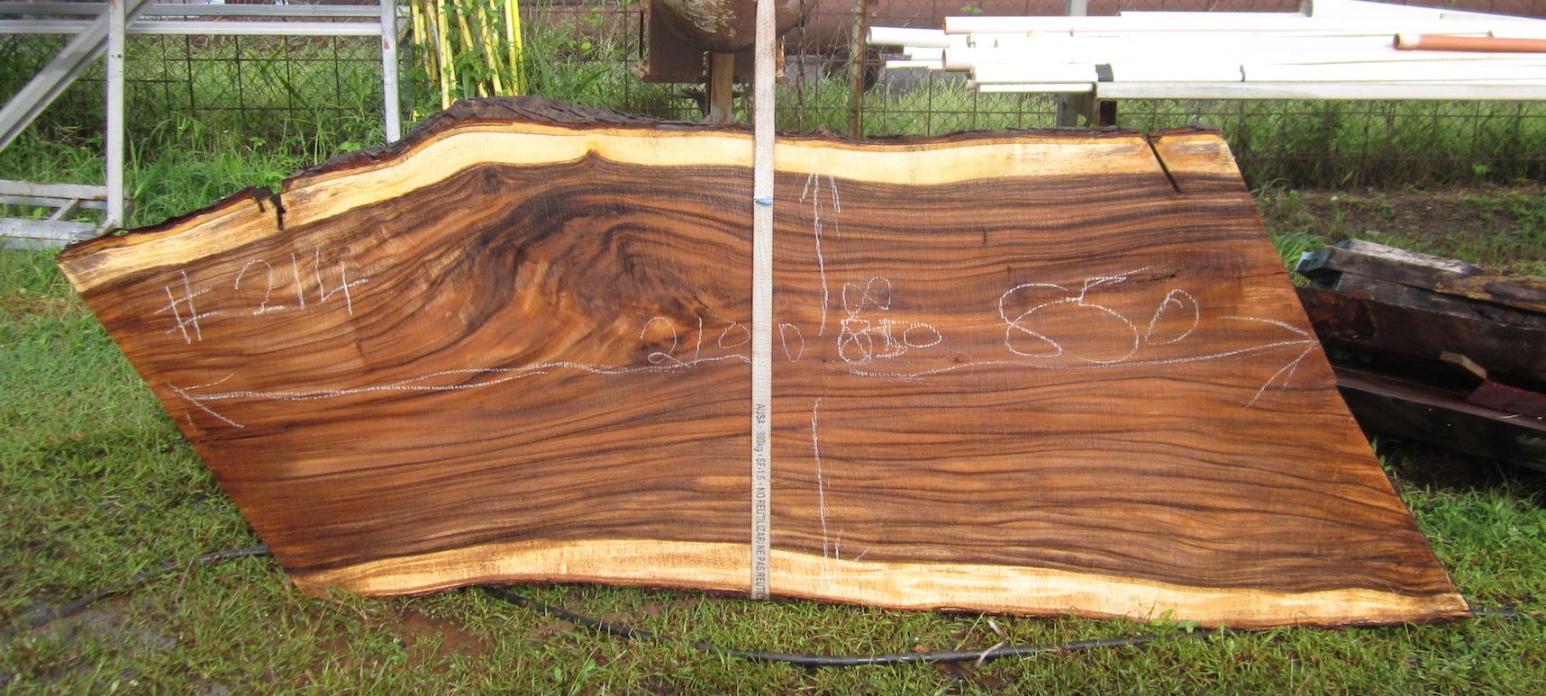 Stunning hardwood timber slabs | timber bar tops